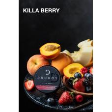 Табак Drugoy Killa Berry (Ягоды, персик, дыня, ваниль) - 100 грамм