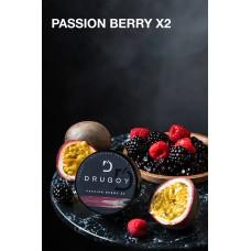 Табак Drugoy Passion Berry x2 (Двойная маракуйя с ягодами) - 25 грамм