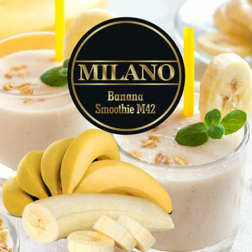 Табак Milano Banana Smoothie M42 (Банановый Коктейль) - 100 грамм