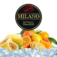 Табак Milano Ice Passion Citrus Blast M142 (Лед Маракуйя Цитрусовый Взрыв) - 50 грамм