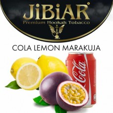 Табак Jibiar Cola Lemon Maracuja (Кола лимон маракуя) - 100 грамм