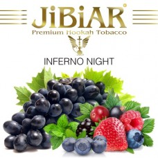 Табак Jibiar Inferno Night (Адская Ночь) - 100 грамм