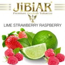 Табак Jibiar Lime Strawberry Raspberry (Лайм Клубника Малина) - 100 грамм