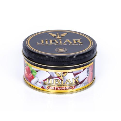 Табак Jibiar Gum Strawberry (Жвачка клубника) - 250 грамм