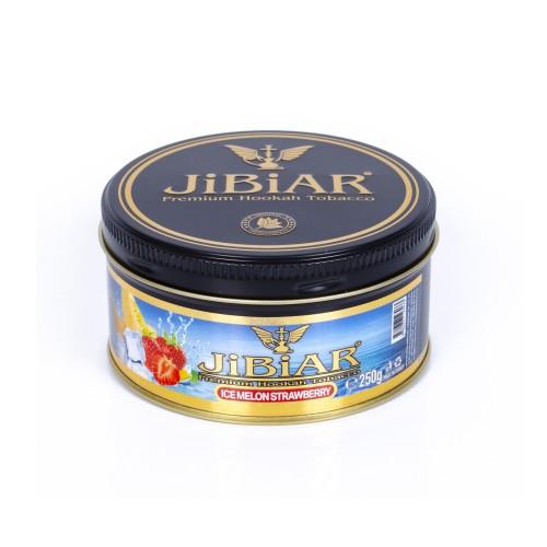 Табак Jibiar Ice Melon Strawberry (Лед дыня клубника) - 250 грамм