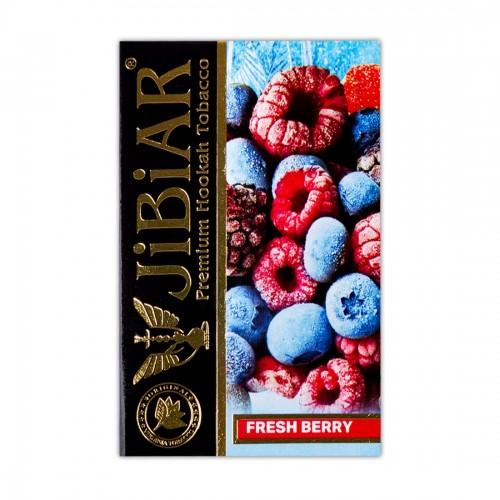 Табак Jibiar Fresh Berry (Свежые Ягоды) - 50 грамм