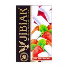 Табак Jibiar Gum Strawberry (Жвачка Клубника) - 50 грамм