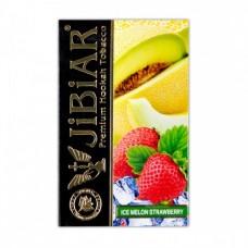 Табак Jibiar Ice Melon Strawberry (Лед Дыня Клубника) - 50 грамм