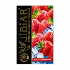Табак Jibiar Ice Strawberry (Лед Клубника)  - 50 грамм
