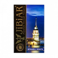 Табак Jibiar Istanbul night (Черника, Эжевика, Малина, Корица)  - 50 грамм