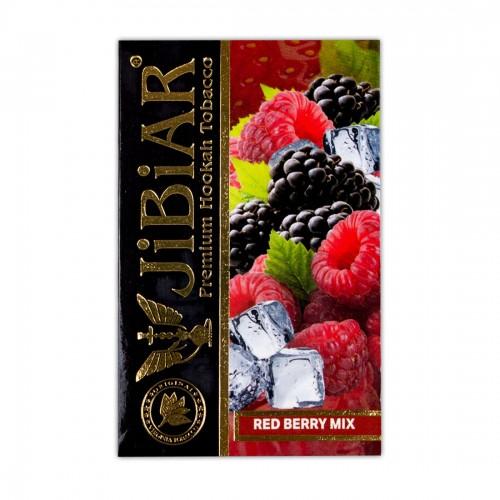 Табак Jibiar  Red Berry Mix (Земляника Клюква Красная Смородина Малина)   - 50 грамм