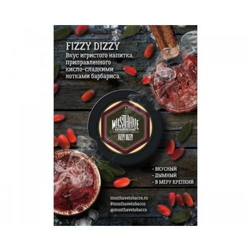 Табак Must Have Fizzy Dizzy (Барбарисовые леденцы с шампанским) - 125 грамм