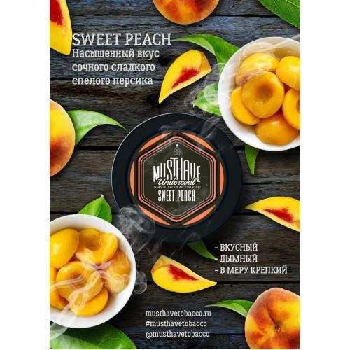 Табак Must Have Sweet Peach (Сладкий Персик) - 125 грамм