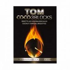 Уголь кокосовый Tom Cococha Silver 1кг (60 шт)